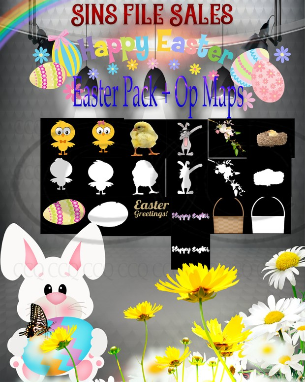 SALE-Price Drop🐣Easter Pack+Op Maps🐣