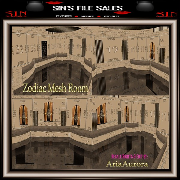Zodiac Mesh Room