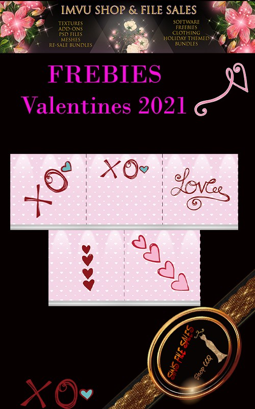♥2021 Valentine Freebies♥