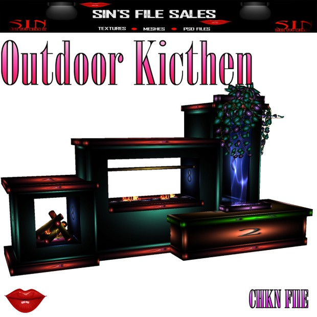 Outdoor Kitchen *Mesh (Camping Collection)
