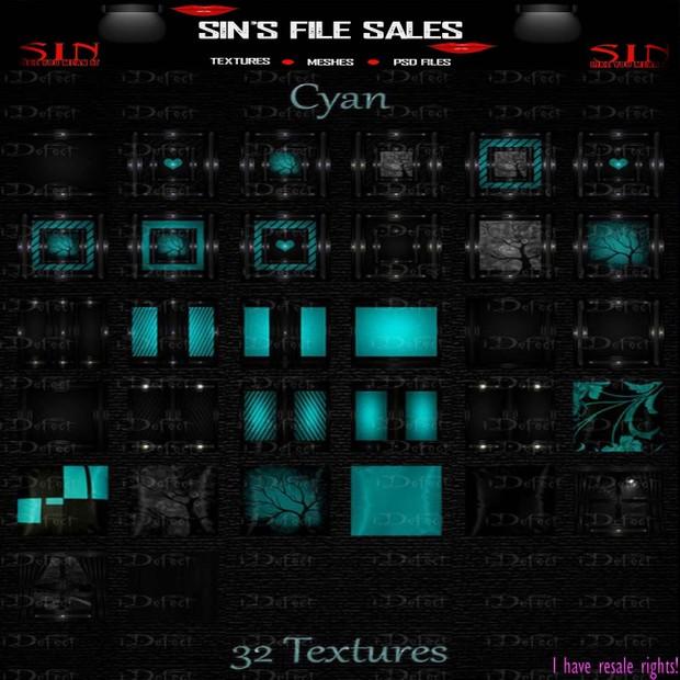 Cyan Texture Pack