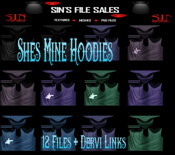 Shes Mine Hoodies *Male