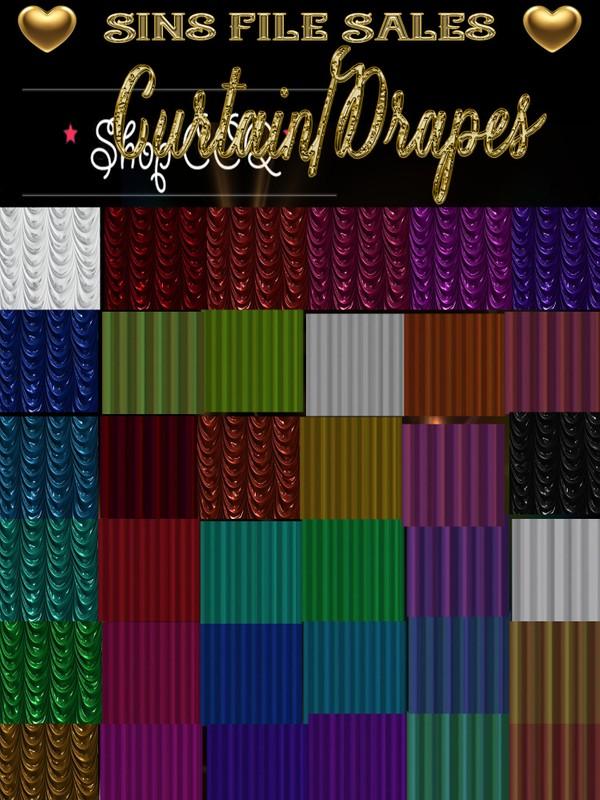 ~Free~ Curtain & Drapes