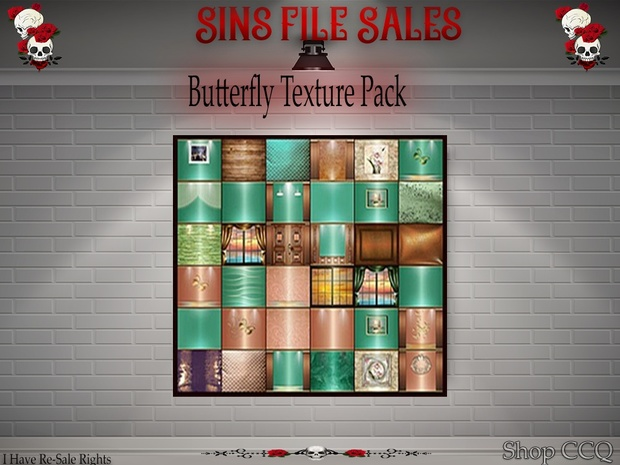 Butterfly Texture Pack