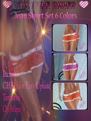 Short Set * 6 Colors + CHKN
