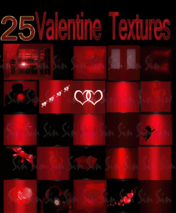 Valentine Textures (IMVU)