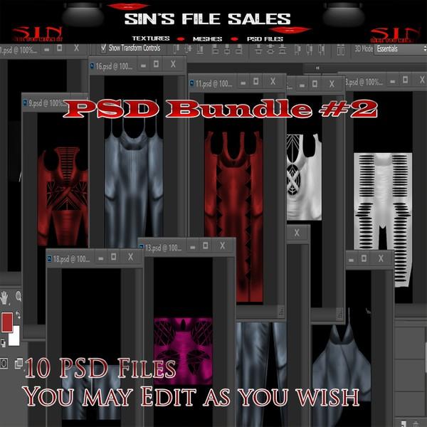 PSD Bundle #2