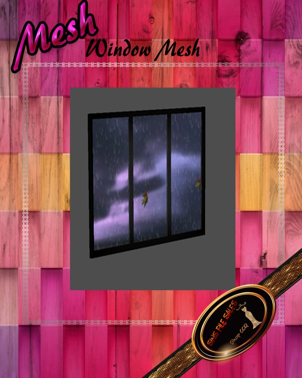 •Window Mesh•CHKN File