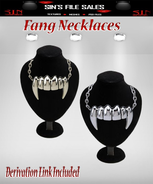 Fang Necklaces