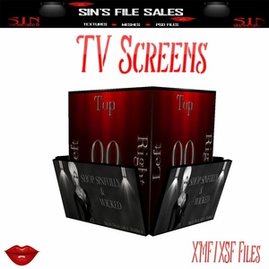 TV Screens* Club/Security Mesh