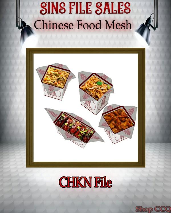 •Chinese Food Mesh•