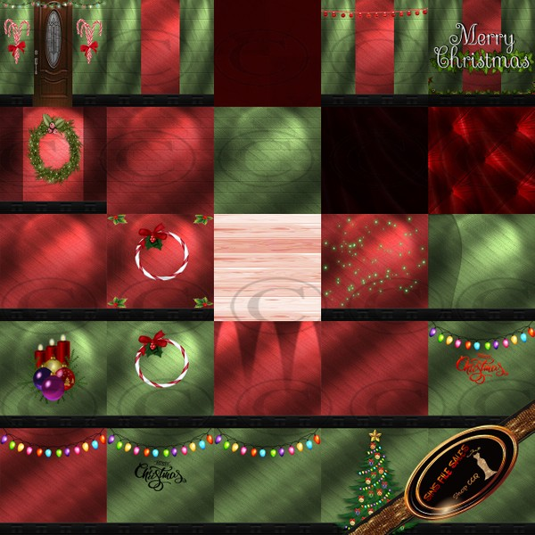 🎅 Christmas 2018 Texture Pack 🎅  25 Files
