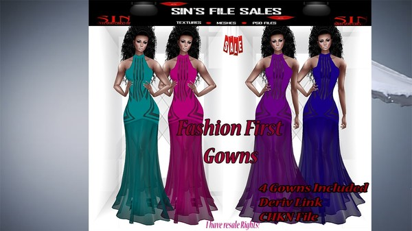 Fashion FIrst Gown Bundle