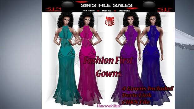 Fashion FIrst Gown Bundle