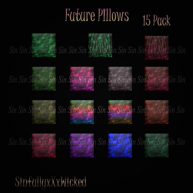 Future PIllows ( 15 Pillow Textures)