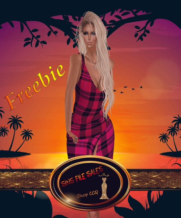 Freebie Summer Plaid