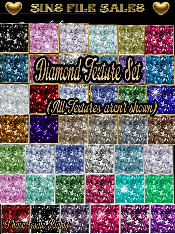 Diamond Texture Set (Jewels)