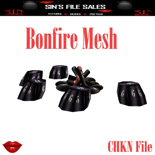 Bonfire Mesh * Camping Collection