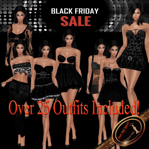 💰 Black Friday 2018 Sale💰 Over 25 Outfits!