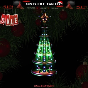 🎄Neon Tree (CHKN File for Easy Upload)🎄