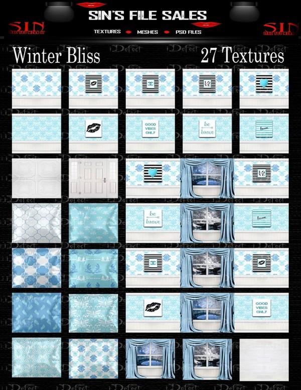 Winter Bliss Texture Pack