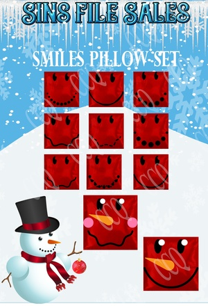 Smiles Pillow Set