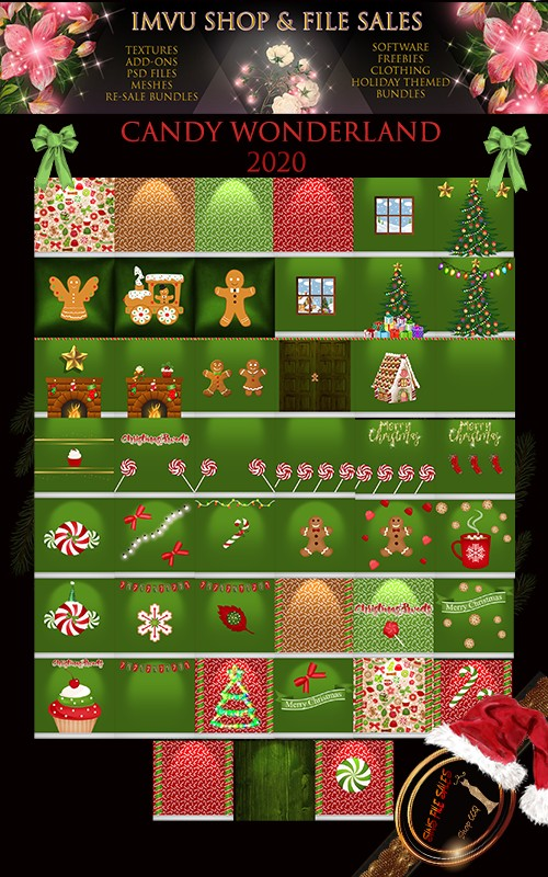Candy Wonderland Texture Pack 2020 - 45 Files