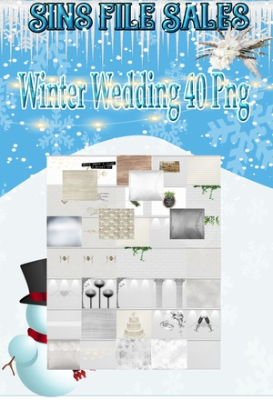 White Wedding Texture Pack *40 Png