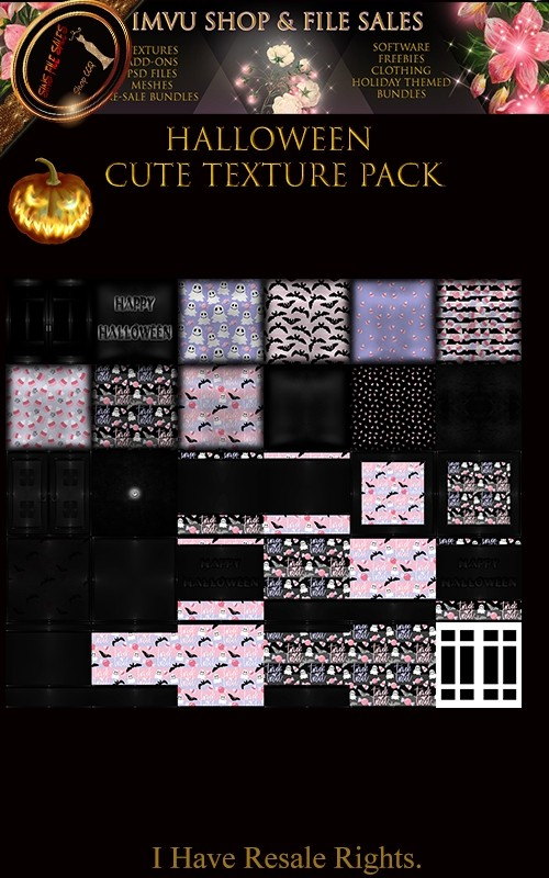 🎃 Halloween Cute Texture Pack🎃