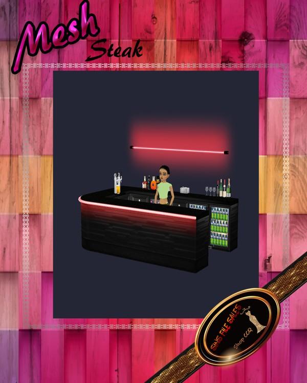 •Neon Bar Mesh•CHKN