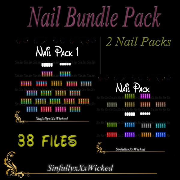 ~*Bundle & Save*~ Nail Pack Bundle (38 Files)