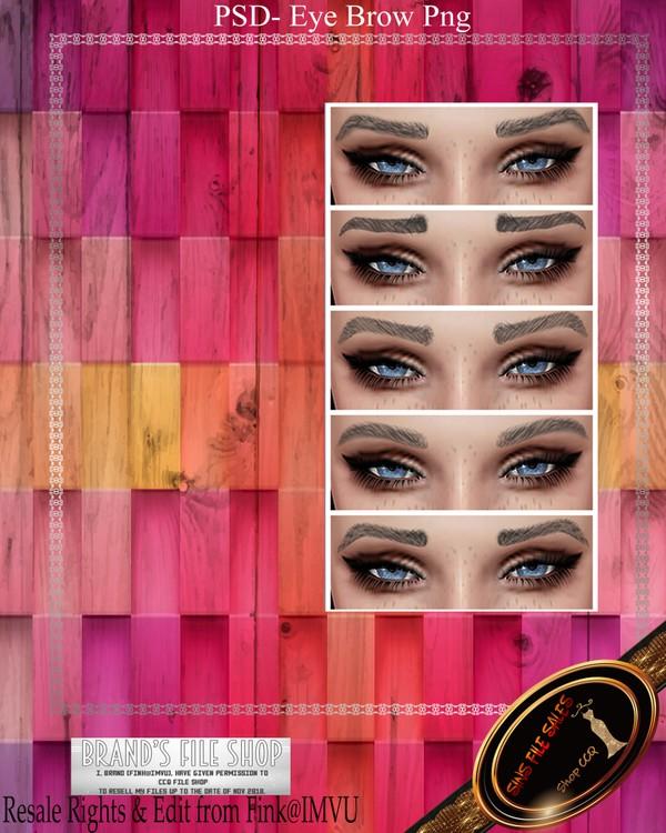 •Eyebrows M/F PSD•