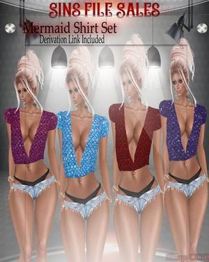 Mermaid Shirt Set