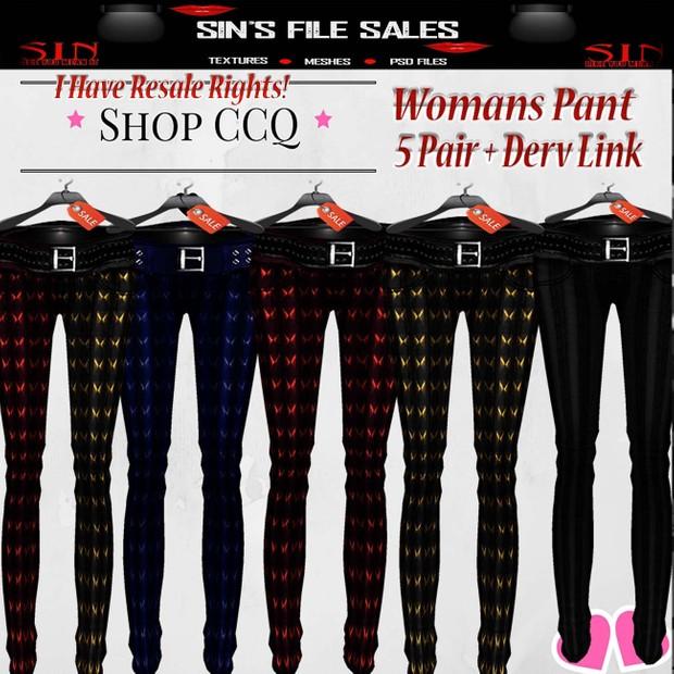 Womans Jeans * 5 Pair
