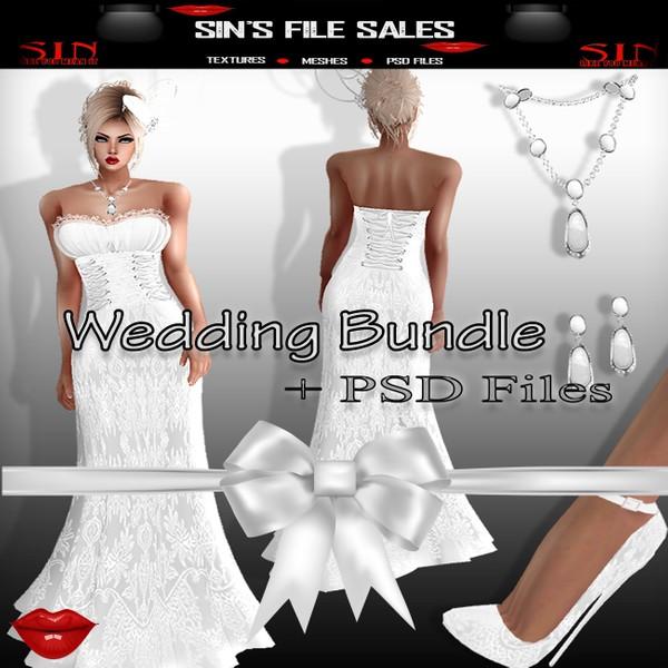 Wedding Bundle + PSD File