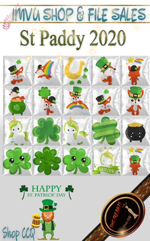 St Paddy 2020 Pillow Texture Pack-