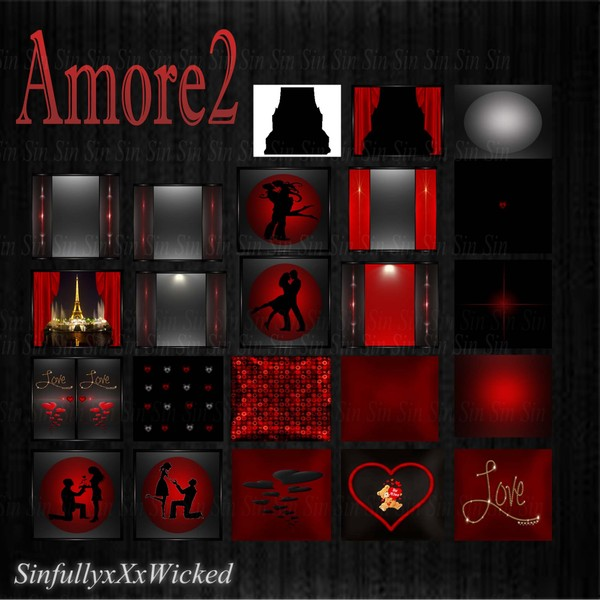 Amore 2 ( 23 Textures)