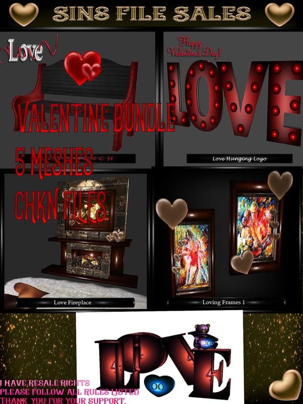 ♥ Valentine Mesh Bundle ♥ Sale