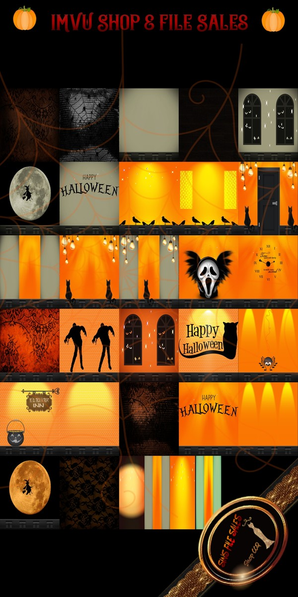 •Halloween Texture Pack 1• 2019- 31 Files