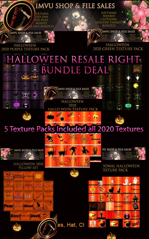 🎃Resale Right Halloween Bundled Deal🎃