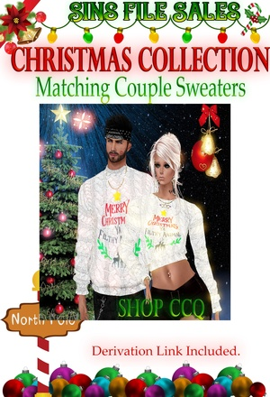 His & Her Christmas Sweaters
