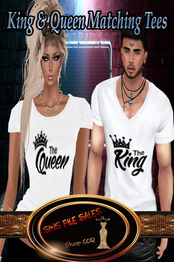 •Matching Shirts• King & Queen
