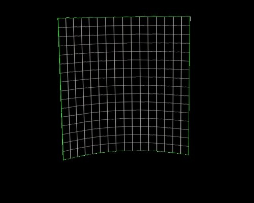 Curved Background/Backdrop Mesh