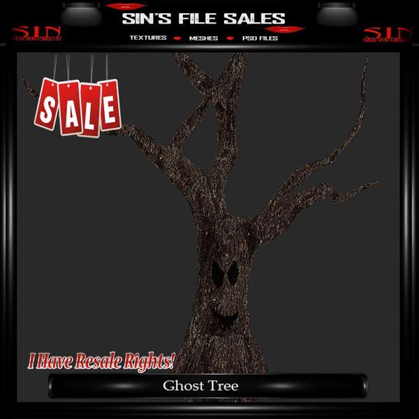 Ghost Tree Mesh