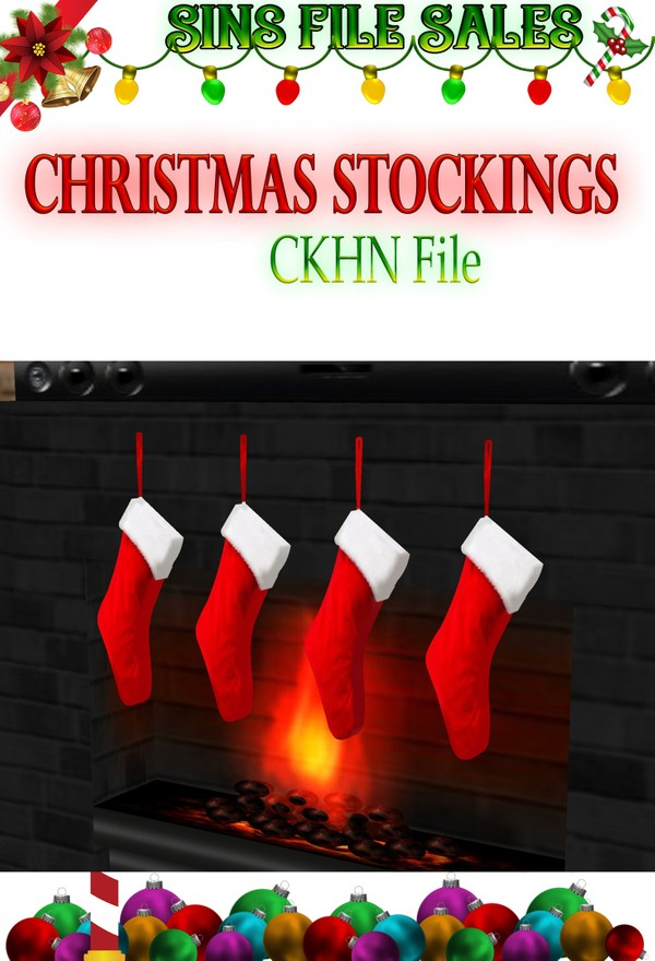 Christmas Stocking Set *CHKN File