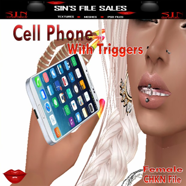 Cell Phone with Triggers * Female Version