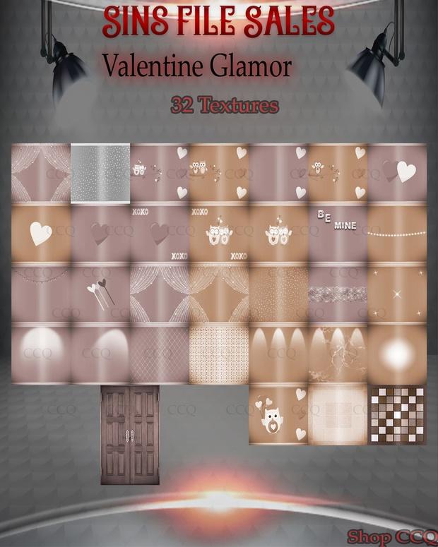 Valentine Glamour* 32 Textures