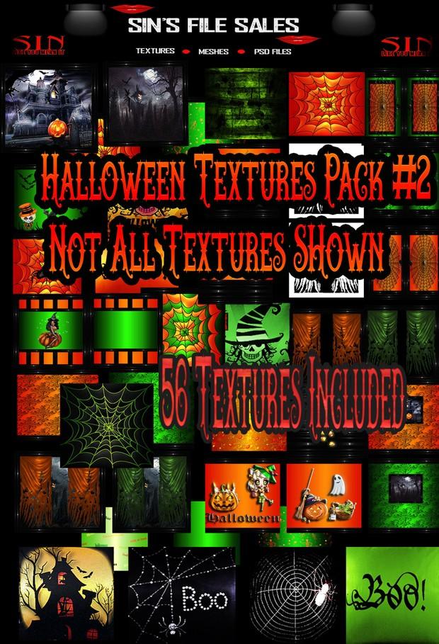 Mega Halloween Texture Pack