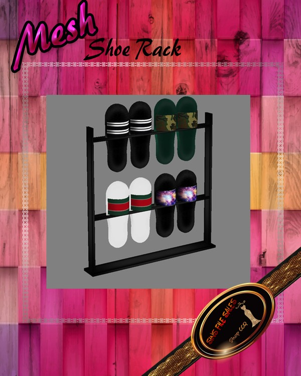 •Shoe Rack Mesh•CHKN File