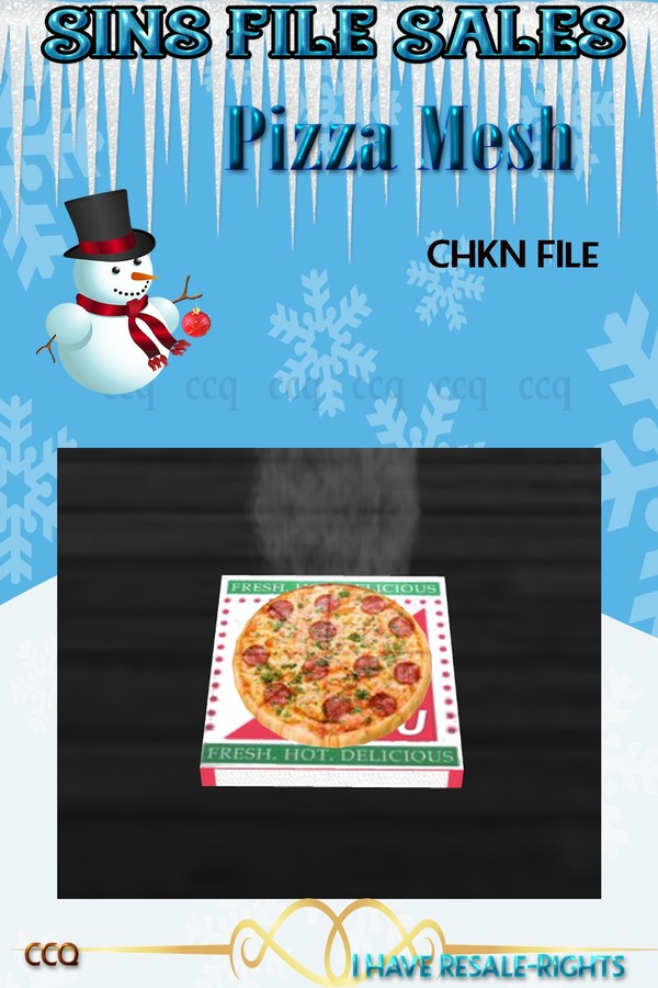 Hot Pizza Mesh*CHKN File